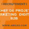 Chef de projet marketing digital B2B : à vos CV !